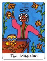 Tarot africain carte 1