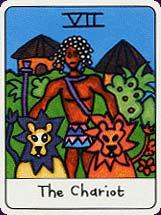 Tarot africain carte 3