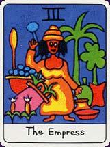 Tarot africain carte 6