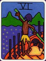 Tarot africain carte 7