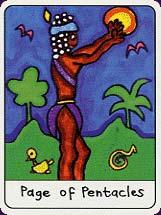 Tarot africain carte 9