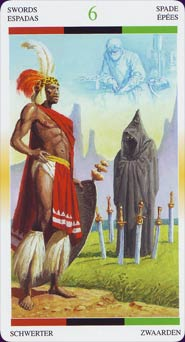Tarot Afro-américain carte 3