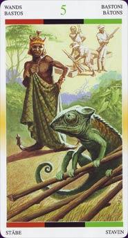 Tarot Afro-américain carte 4
