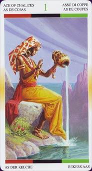Tarot Afro-américain carte 6