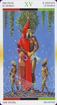 Tarot Afro-américain carte 7