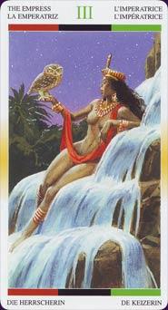 Tarot Afro-américain carte 9