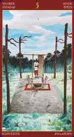 Tarot Afro-brésilien carte 3