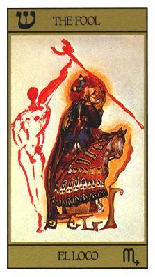 Tarot ésotérique divinatoire - Tarot Dali universel par