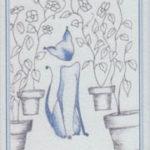 Tarot du chat bleu
