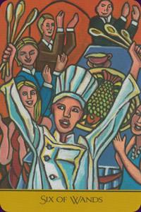 Tarot sot rique divinatoire tarot du cuisinier par for Cuisinier 78