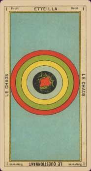 Tarot le livre de Thot Etteilla