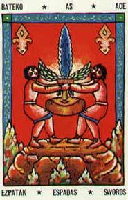Tarot mythique Basque carte 3