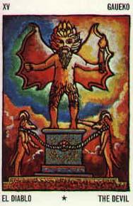 Tarot mythique Basque carte 1
