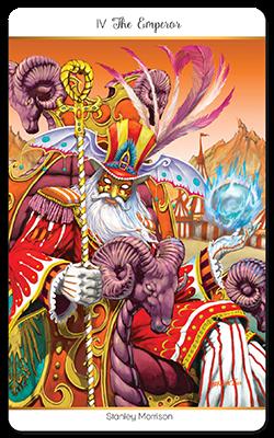 78 Tarot Carnival carte 2